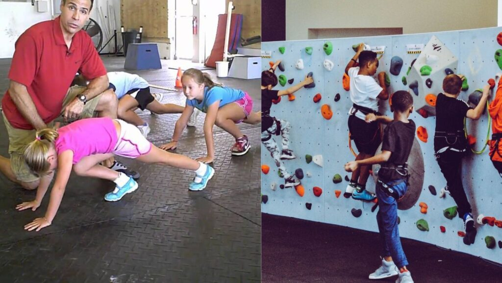 Mountain Climber - Physical Fitness Exercises for Kids