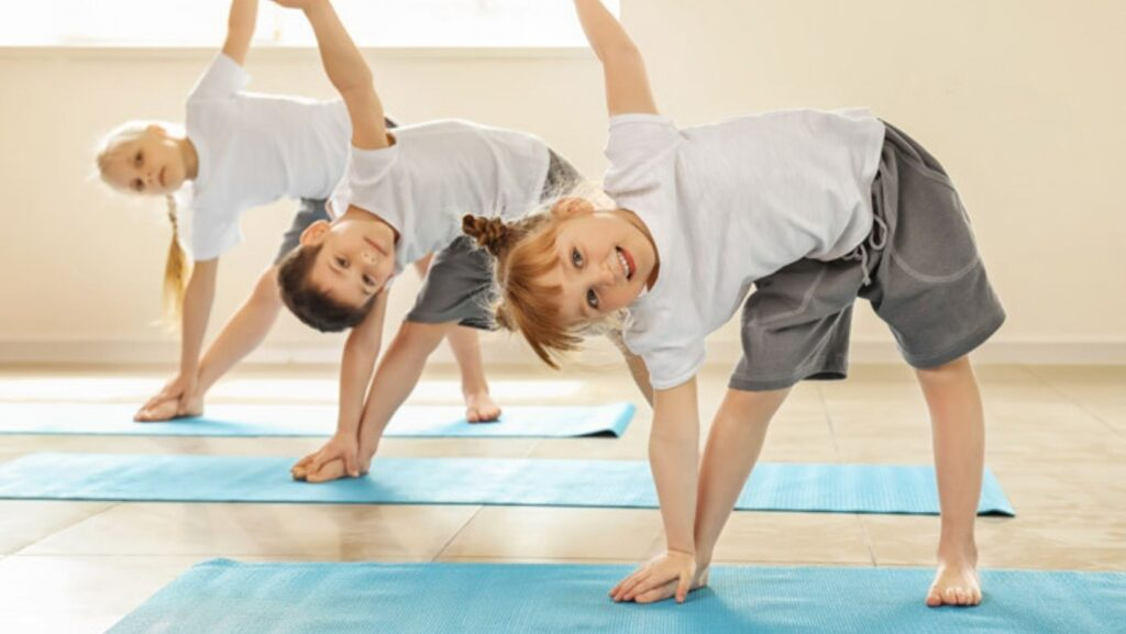 Stretching Physical Fitness Exercises for Kids